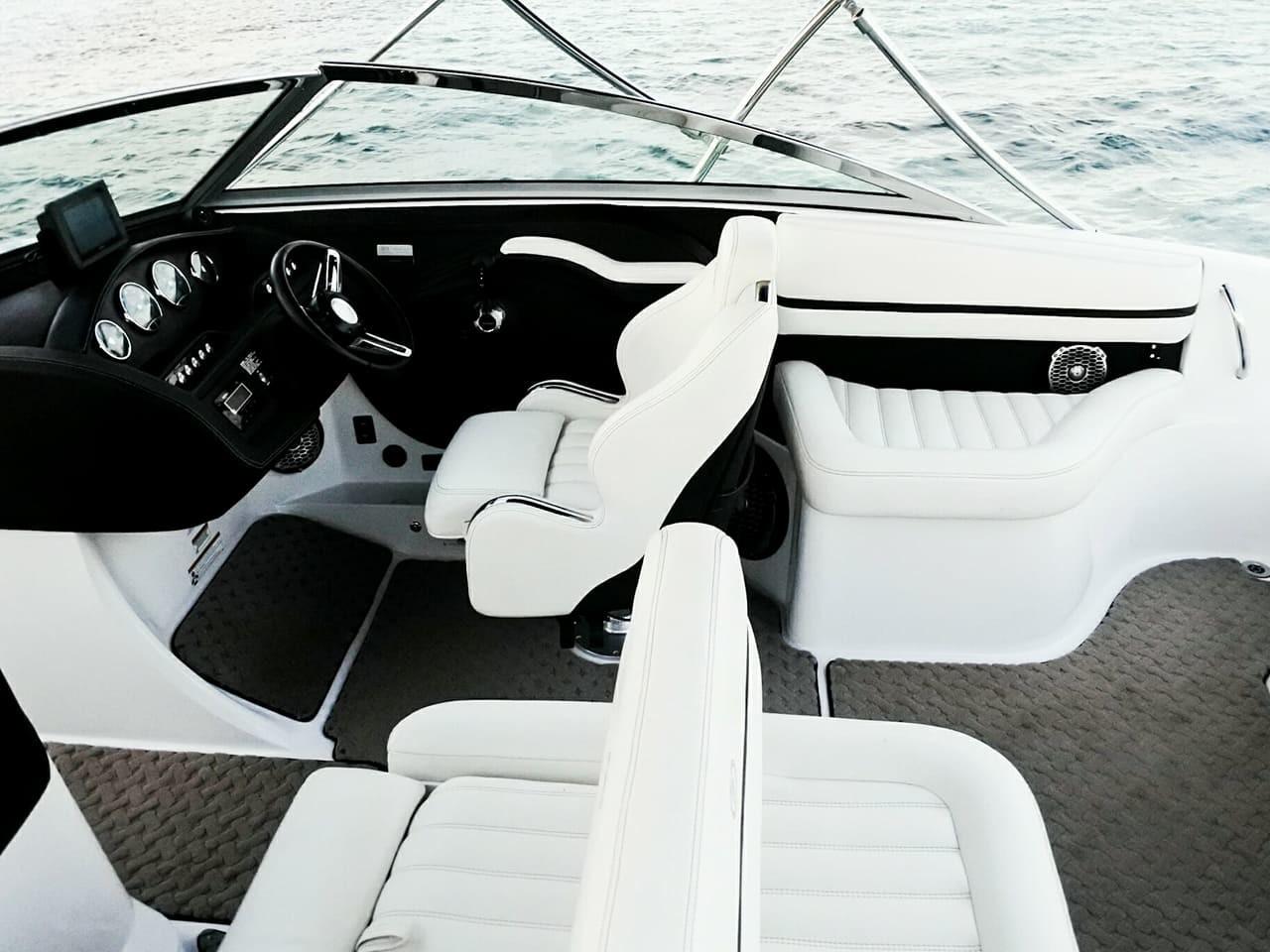 cayman islands boat charter interior