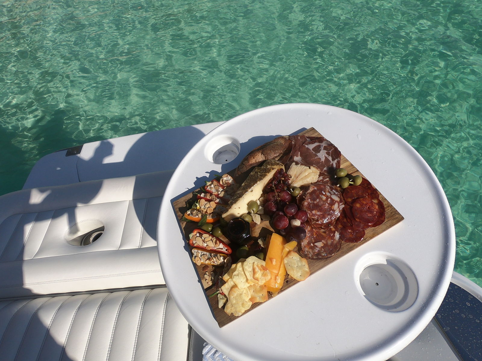 cayman charter food