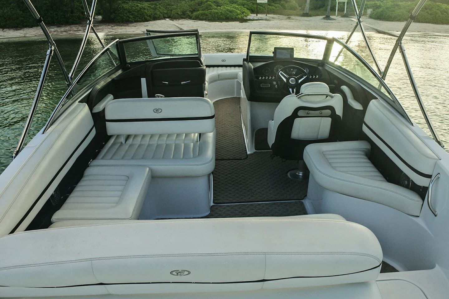 cayman islands boat charter interior